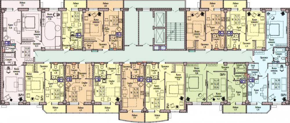 жк парк островского планировка 2 3-10 этаж_1.jpg