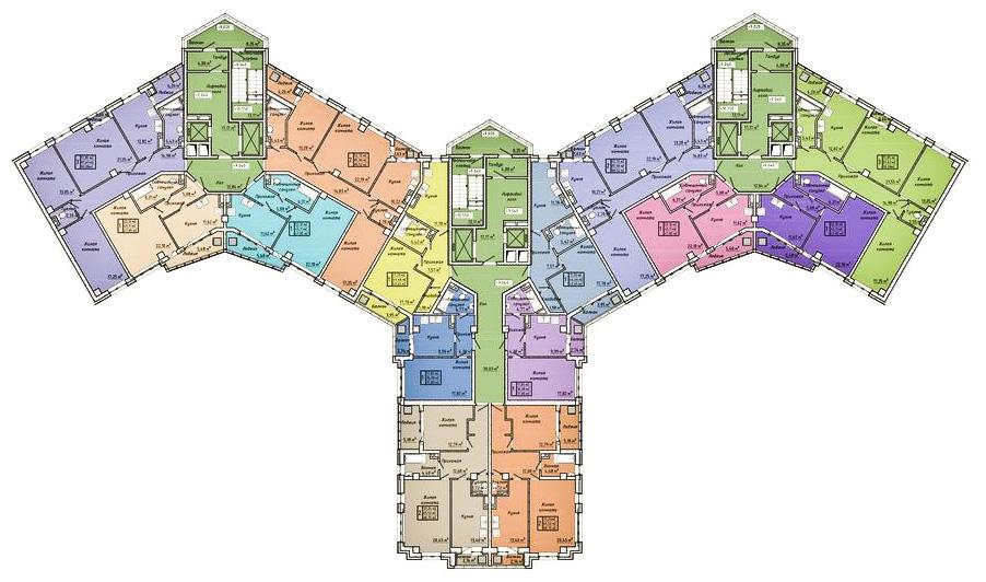 жк центральный батайск планировка секция 2-4_1.jpg