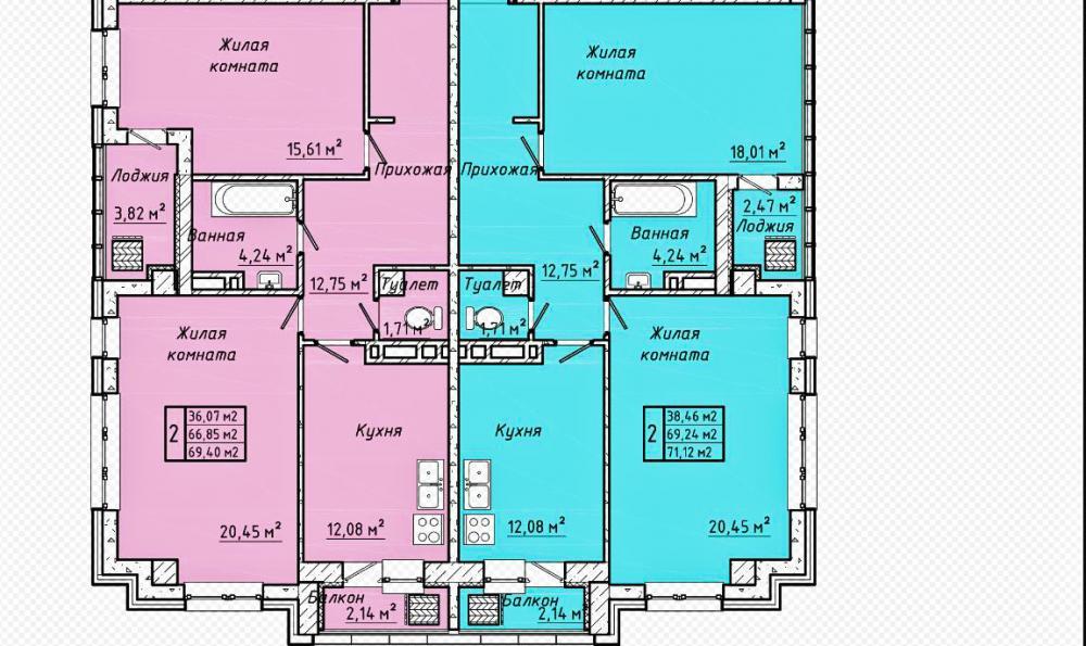 жк центральный 3 батайск планировка секция 1_1.jpg