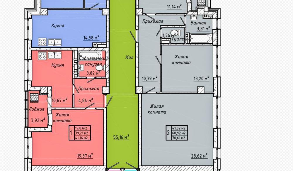 жк центральный 2 батайск планировка секция 1_1.jpg