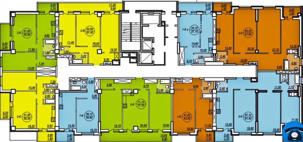 бариккадная 3 этап планировка этажа 18-24_1.jpg