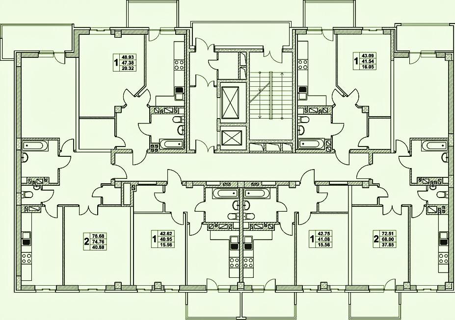 жк нахичевань планировка 3 подъез 3 этаж_1.jpg