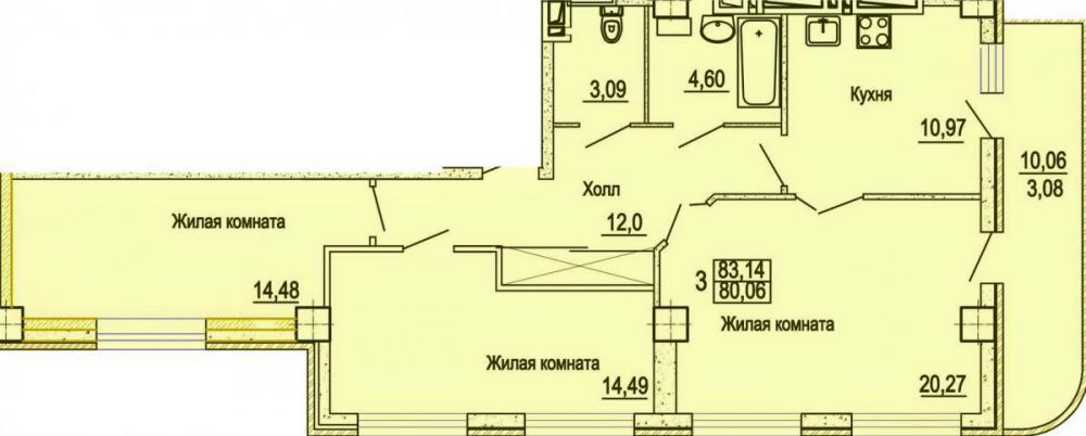 жк уютный дом на мечникова планировка 3 комнатных_1.jpg