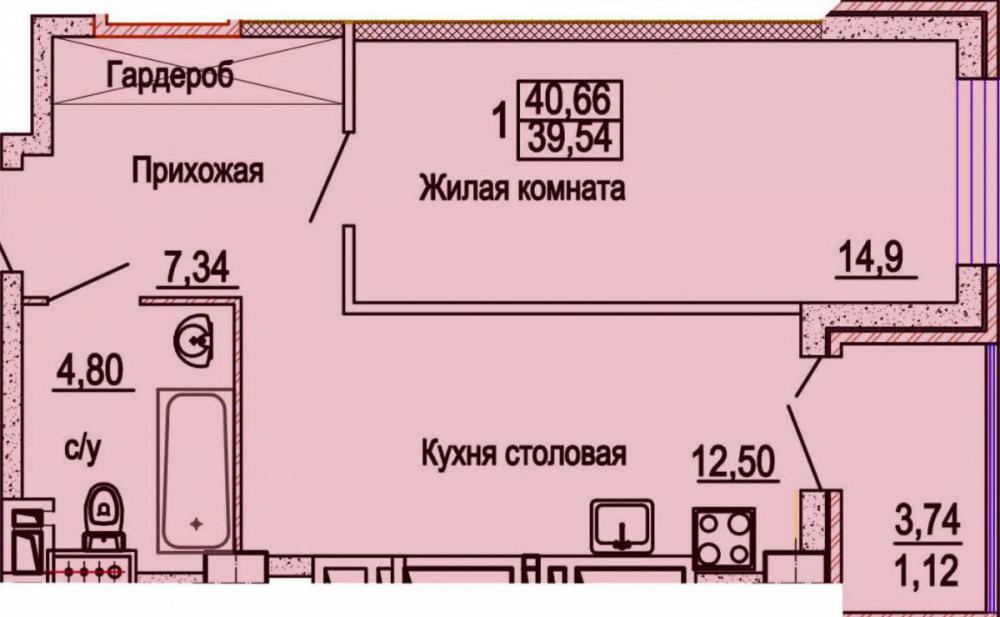 жк уютный дом на мечникова планировка 1 комнатных 2_1.jpg