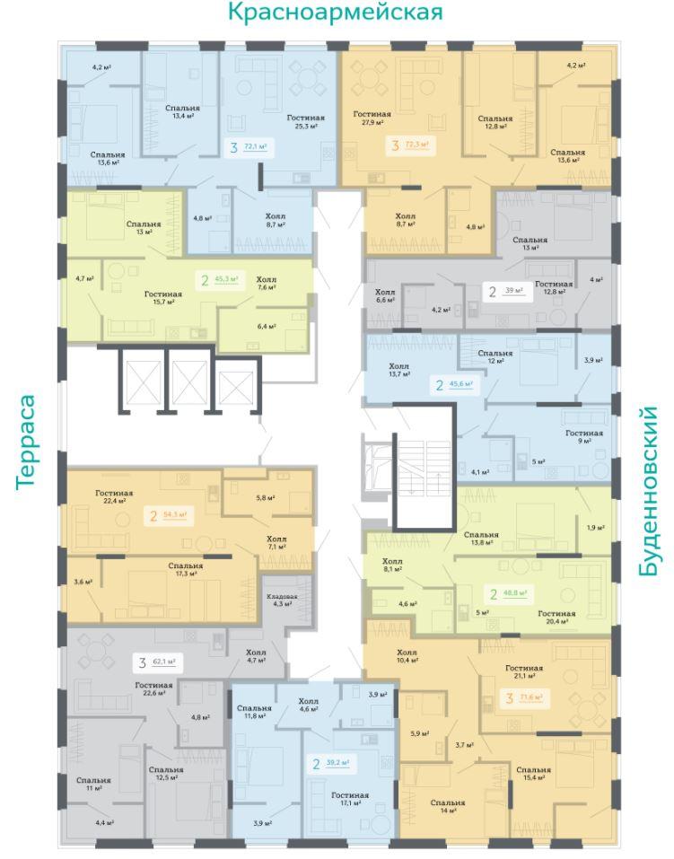 планировки квартир жк островский ростов на дону сигма дон.JPG