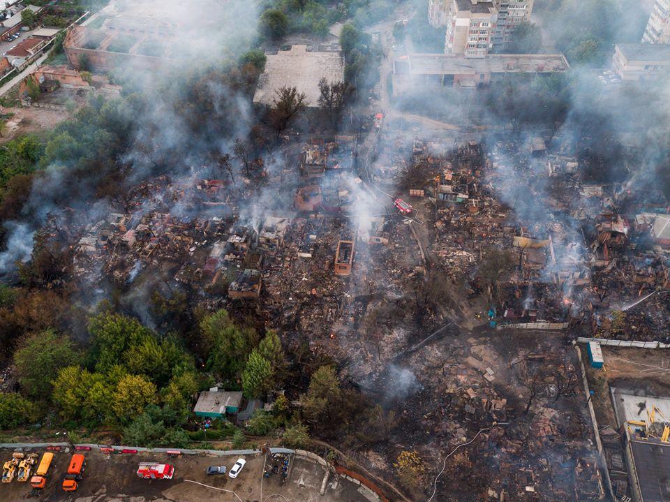 Последствия пожара на театральном спуске в ростове на дону фото с высоты.jpg