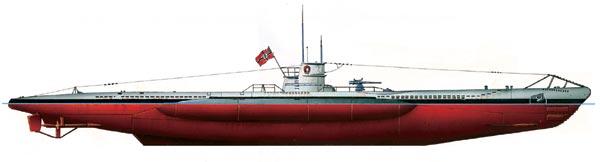 подводная лодка кригсмарин