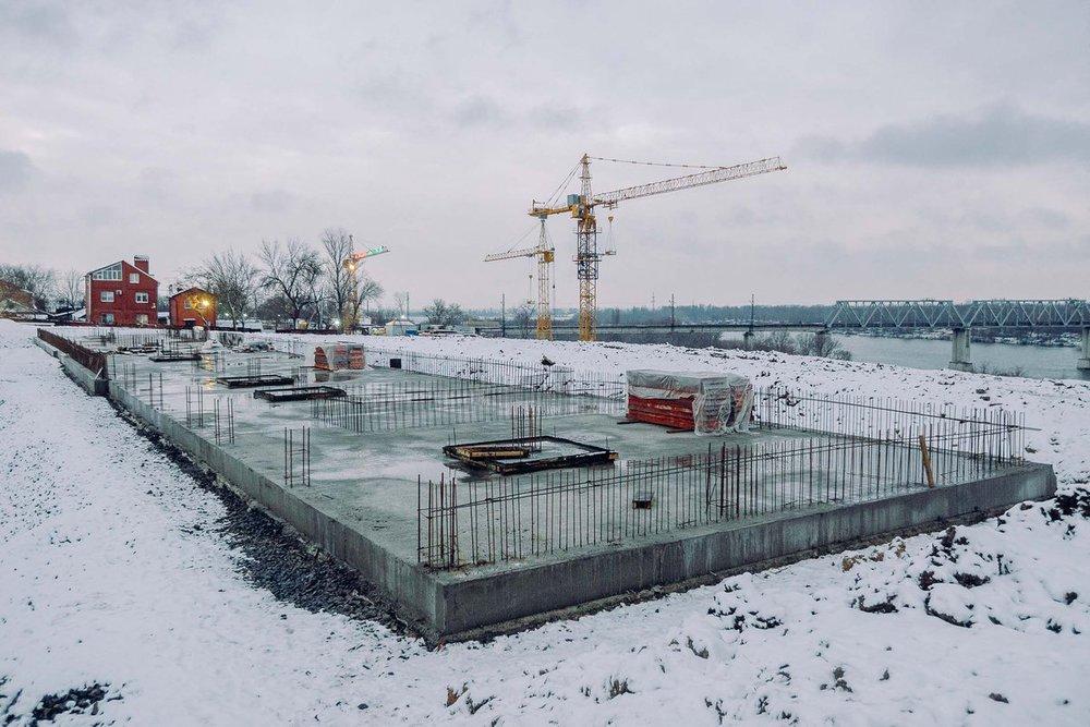 фото хода строительства школы красный аксай