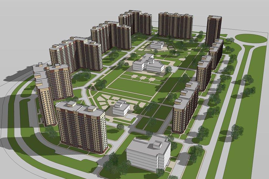 левенцомка московская строительная компания план застройки