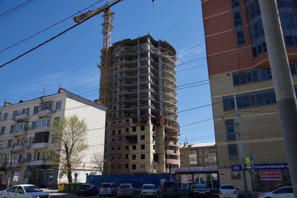 квартиры в новостройках центр ростова