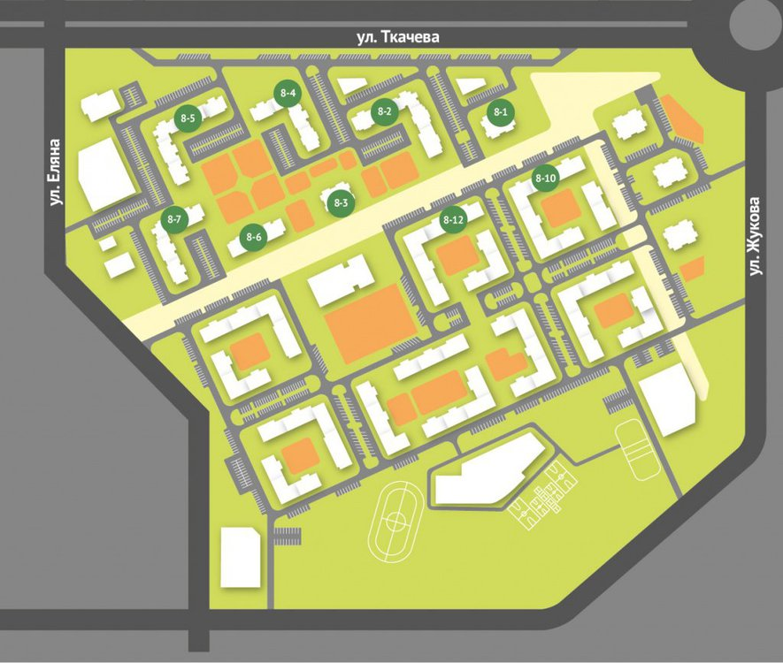 план застройки левенцовка парк