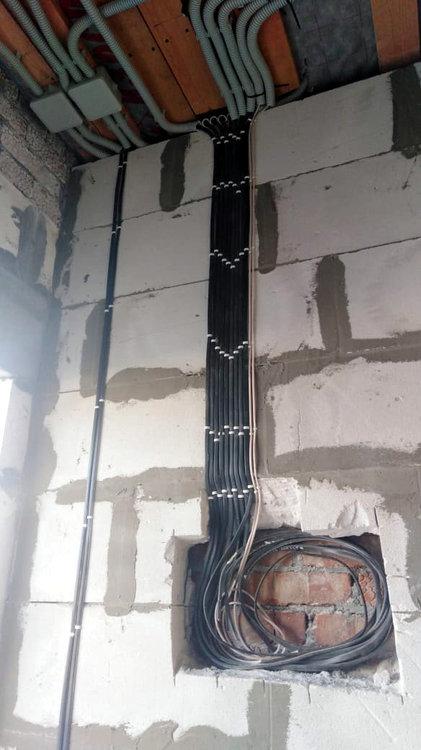 электроразводка в доме фото