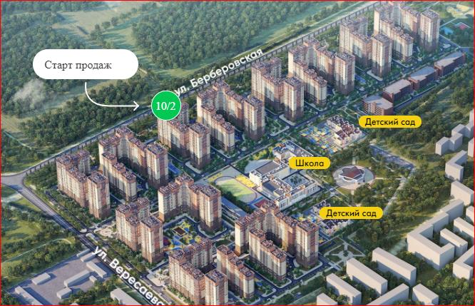застройка вересаево отзывы купивших квартиру